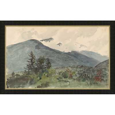 'WHITE MOUNTAINS FROM FERNALD'S HILL' FRAMED PRINT - Perigold