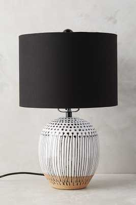 Uteki Painted Table Lamp - Small - Anthropologie
