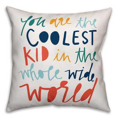 Saul Kid Throw Pillow - Wayfair