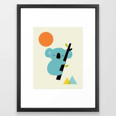 Little Dreamer framed art print - Society6