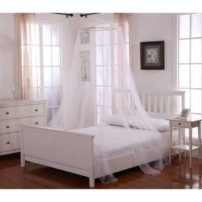 Laurencho Round Hoop Sheer Bed Canopy Net - Wayfair