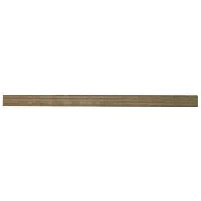 Chicago Bracketless Floating Shelf- driftwood - Wayfair