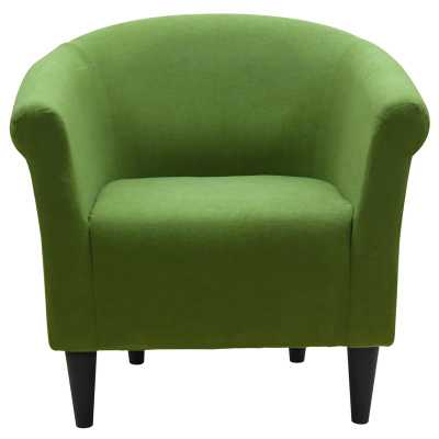 Liam Barrel Chair, Fern Green - Wayfair