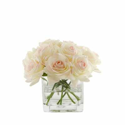 Roses Floral Arrangements and Centerpieces in Vase - Wayfair