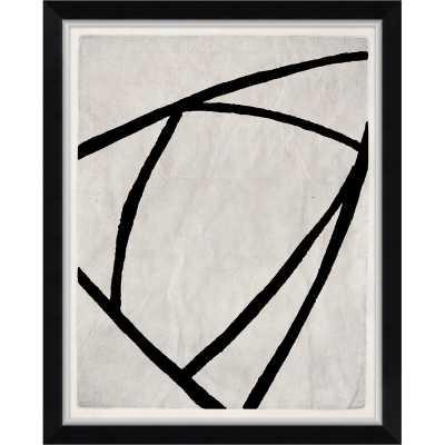 Finn & Ivy 'Black and White Geometrics' Print - Perigold