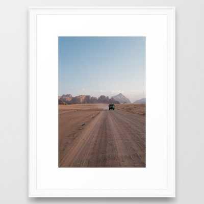 Fellow traveller Framed Art Print - Society6