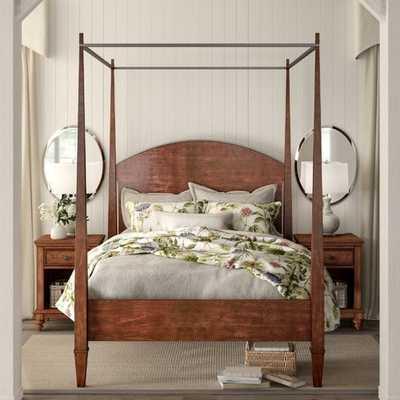 Schaffer Canopy Bed- king - Wayfair
