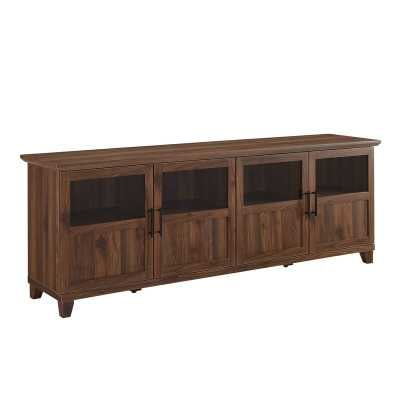 Timpson TV Stand / Dark Walnut - Wayfair