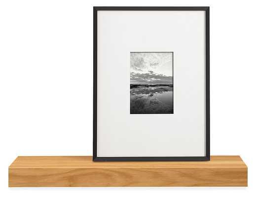 "Float Wall Shelves - 24"" White Oak - Room & Board"