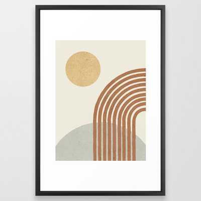Sunny Hill Framed Art Print - Society6