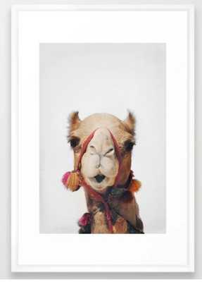 Camel Framed Art Print - Society6