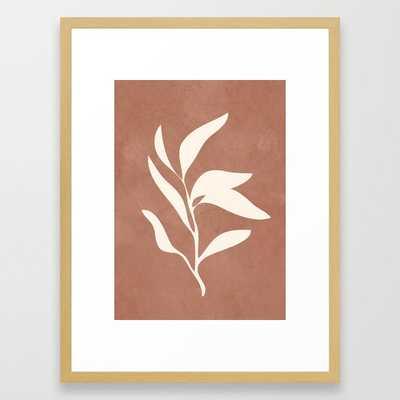 Little Leaves I Framed Art Print - Society6