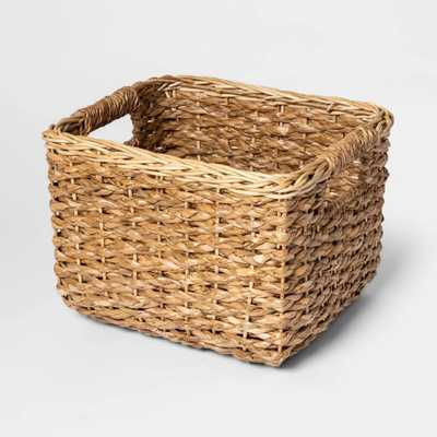 "8""x10"" Aseana Small Milk Crate Natural - Threshold™ - Target"