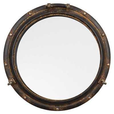Round Metal Porthole Mirror - Nomad Home