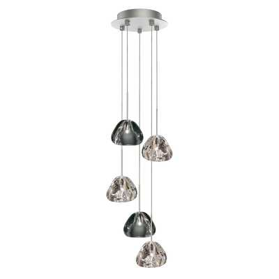 5 - Light Cluster Geometric Pendant - Perigold