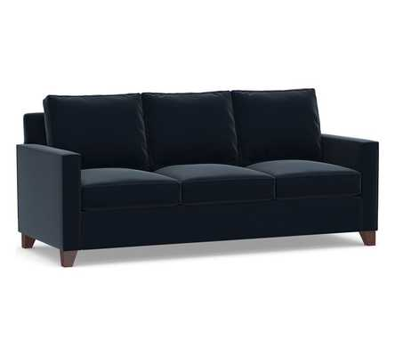 Cameron Square Arm Upholstered Sleeper Sofa with Memory Foam Mattress - Pottery Barn