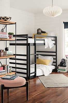Fort Bunk Beds in Graphite - Room & Board