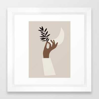 Hand 3 Framed Art Print by ThingDesign - Society6