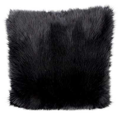 Yaritza Faux Fur Throw Pillow - AllModern