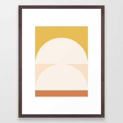 Abstract Geometric 01 Framed Art Print - Society6