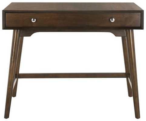 Isadora Desk - Walnut - Arlo Home - Arlo Home