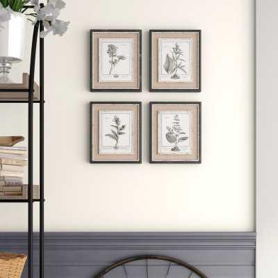 'Ladouceur' 4 Piece Picture Frame Gallery Wall Set Set - Birch Lane