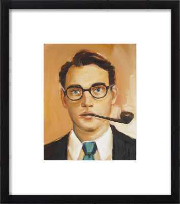 William Cleary - 10 x 12 - Black Wood, frame with mat - Artfully Walls