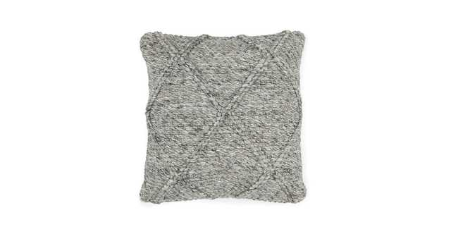 Criss Fog Gray Pillow - Article