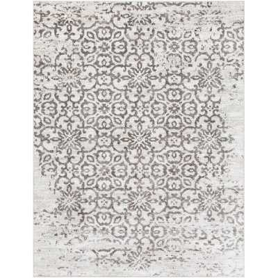 Bonney Power Loom Gray Rug - Wayfair
