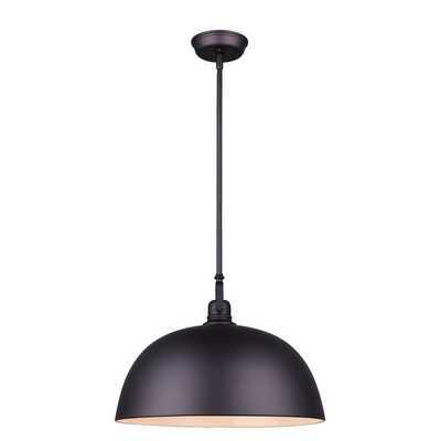 "Southlake 1-Light Single Dome Pendant 16"" - Wayfair"