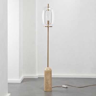 Capullo Glass Floor Lamp - CB2