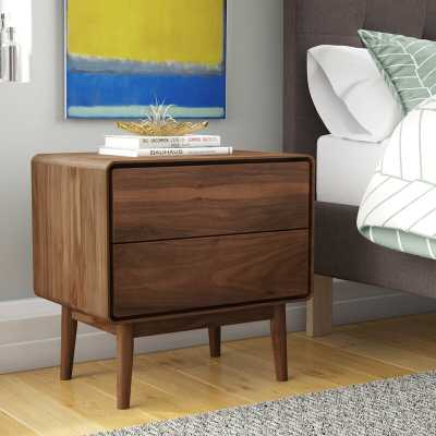 Brewington 2 Drawer Nightstand - Wayfair