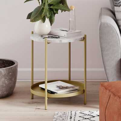 Britni End Table - Wayfair