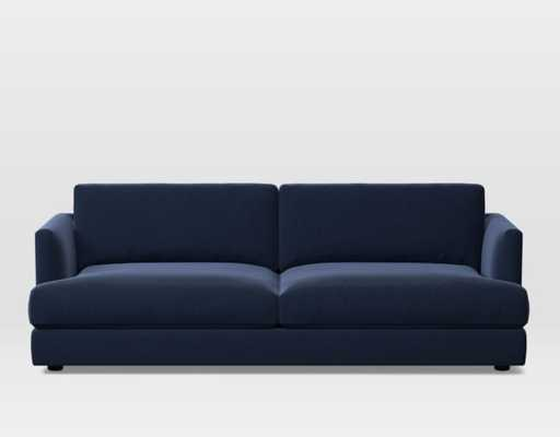 Haven Sofa, Poly, Performance Velvet, Ink Blue - Extra Deep - West Elm
