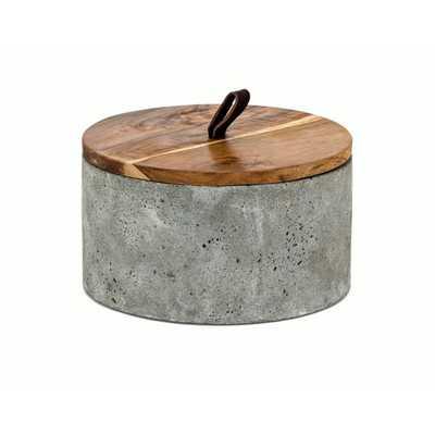 Becker Short Lidded Box - Mercer Collection