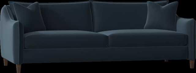 "Bernhardt Joli 90"" Square Arm Sofa Body Fabric: 2909-043, Leg Color: Molasses - Perigold"