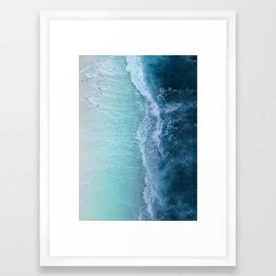 Turquoise Sea Framed Art Print - Society6