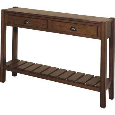 "Berkley Hall 46"" Solid Wood Console Table - Wayfair"