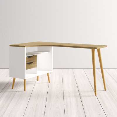 Copenhagan L-Shape Desk - AllModern