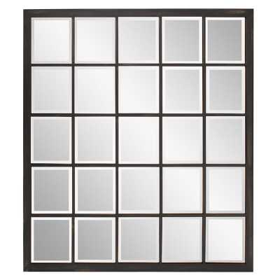 Accent Window Mirror, Oil Rubbed Bronze - Wayfair