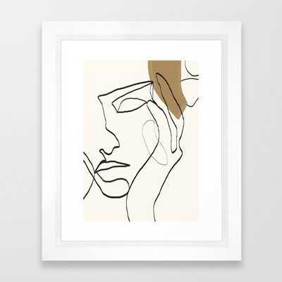 "Abstract Face by dada22 10""x12"" - Society6"