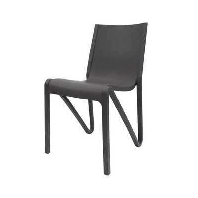 Kinman Modern Stacking Patio Dining Chair - Wayfair