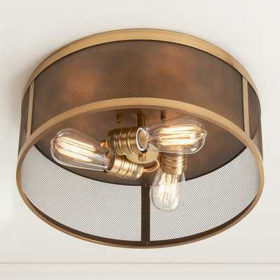 """VINTAGE MIX CAGE CEILING LIGHT - 14"""" - Shades of Light"""