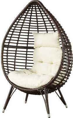 Teardrop Patio Chair with Cushions - Wayfair