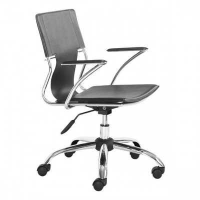 Trafico Office Chair Black - Zuri Studios