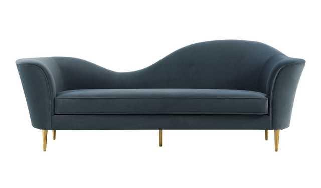 Zuri Morgan Velvet Sofa - Maren Home