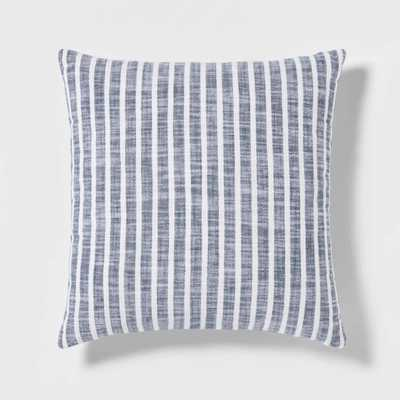 Woven Stripe Square Pillow - Threshold™-Yellow - Target