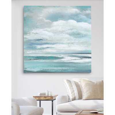 'Billowing Clouds' Oil Painting Print - Wayfair