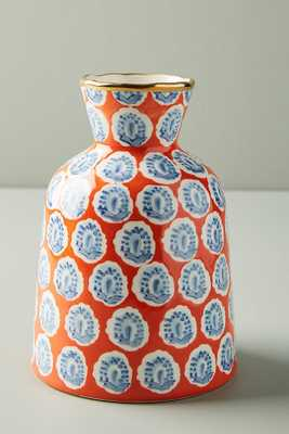 Painted Elza Vase - Orange - Anthropologie