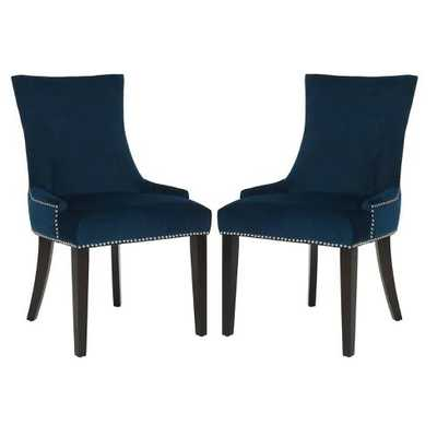 Carraway Upholstered Dining Chair (Set of 2) - Wayfair